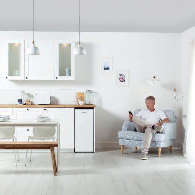 Worcester Bosch Greenstar oil boiler installed in a kitchen